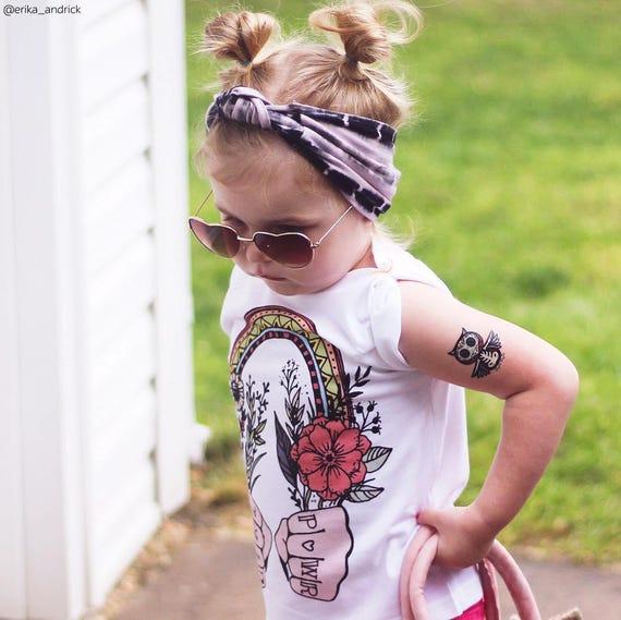 Lot De 3 Tatouages Tatouages Poison Squelette Enfant Tatouages Avec