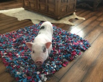 Washable Snuffle Mat Choose Your Size & Color Interactive Pet Toy Foraging/Rooting