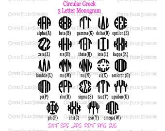 Greek letters svg   Etsy