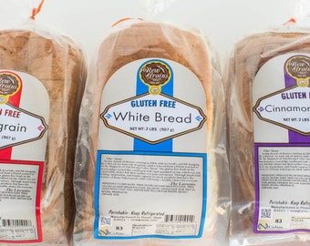 Gluten Free Variety Bread Pack