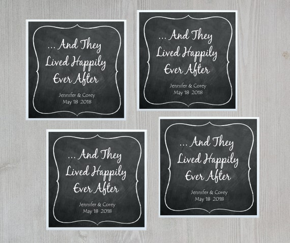 Wedding Favor Coasters Customized Wedding Favor Ceramic Tile Etsy
