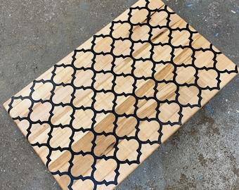 Maple Arabesque Cutting Board