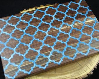 Black Walnut Arabesque Cutting Board