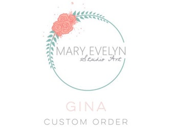 Custom Order for Gina: Whimsical Custom Watercolor Pet Portrait Ornament