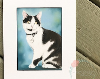 Custom Pastel Pet Portrait Drawing