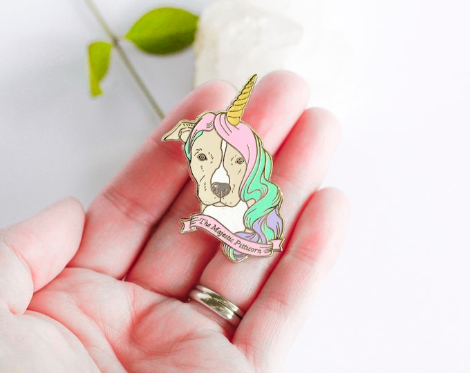 Featured listing image: The Majestic Pitticorn™ Hard Enamel Pin