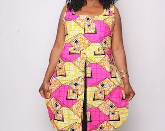 Pinky Shirt Dress