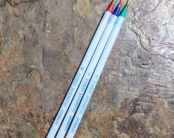 Fine line paint brushes (3)