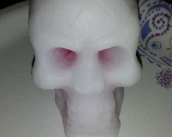 Bleeding Skull Candle,skull candle, Halloween Candle, Gothic candle