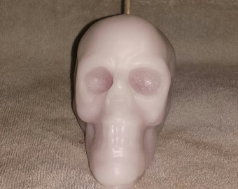 Large Bleeding Skull Candle, Skull Candle, Gothic Candle, Halloween Candle