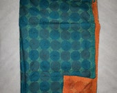 Handmade Kantha Silk Indian Bohemian Scarf ART-SH02