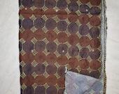 Indian Vintage Scarf Scarves Kantha Stole Wrap Sari Handmade Dupatta ART-SH05