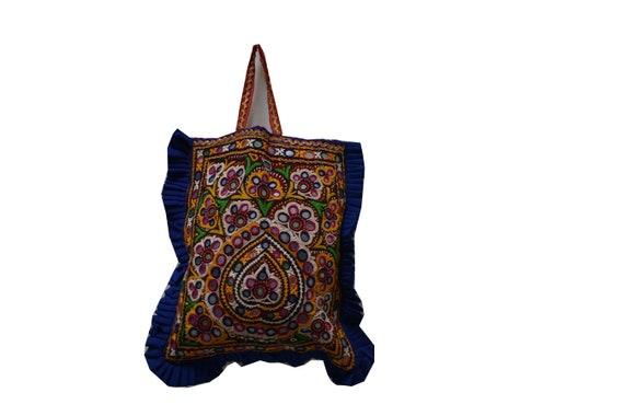 Kutchi bag, tote bag, gypsy bag, boho bag, Embroid