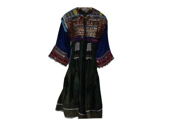 Tribal Afghan kuchi handmade heavily special embro
