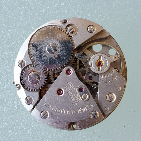 Vintage Mechanical Watch Parts . Mechanical Men's