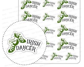 Irish Dance Class Stickers   Irish Dancer