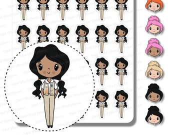 Cute Senior Scout Planner Stickers