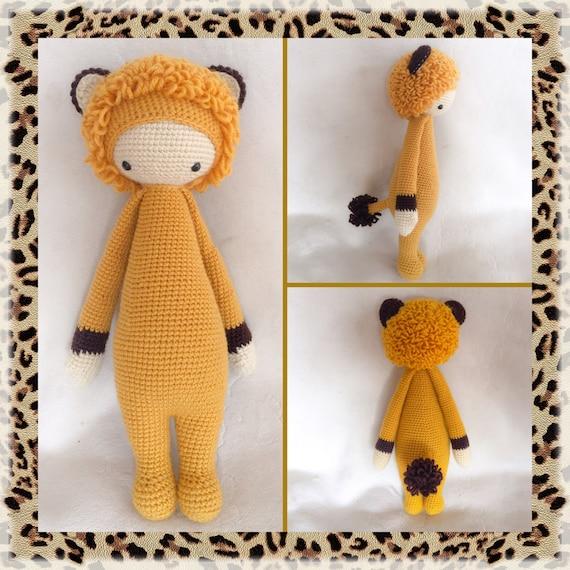 LONI juguete/muñeca el León por Lalylala patrón/Amigurumi de | Etsy