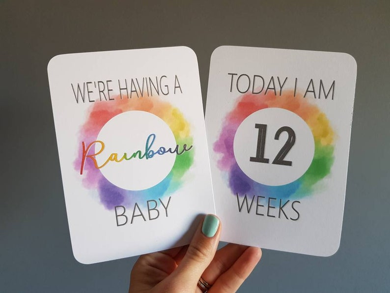 Pregnancy Milestone// Journey// special moment cards x20 photo prop pregnancy gift