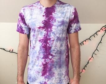 Tie Dye t-shirt, festival shirt, shibori shirt, tie dye shirt, psychedelic clothing, urban outfitters, hand dyed shirt,  hippie