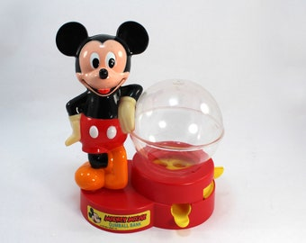 Mickey Mouse Gumball Machine Etsy