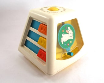 Vintage Baby Activity Centre Crib Toy 80s Baby Activity Toy Firm In Structure Toys For Baby