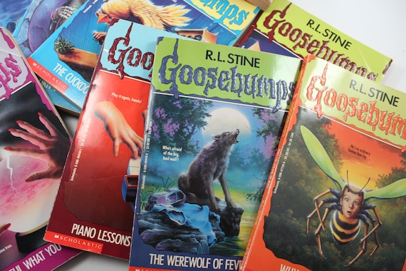 Take A Chance Three Random Goosebumps Books By R L Stine Etsy