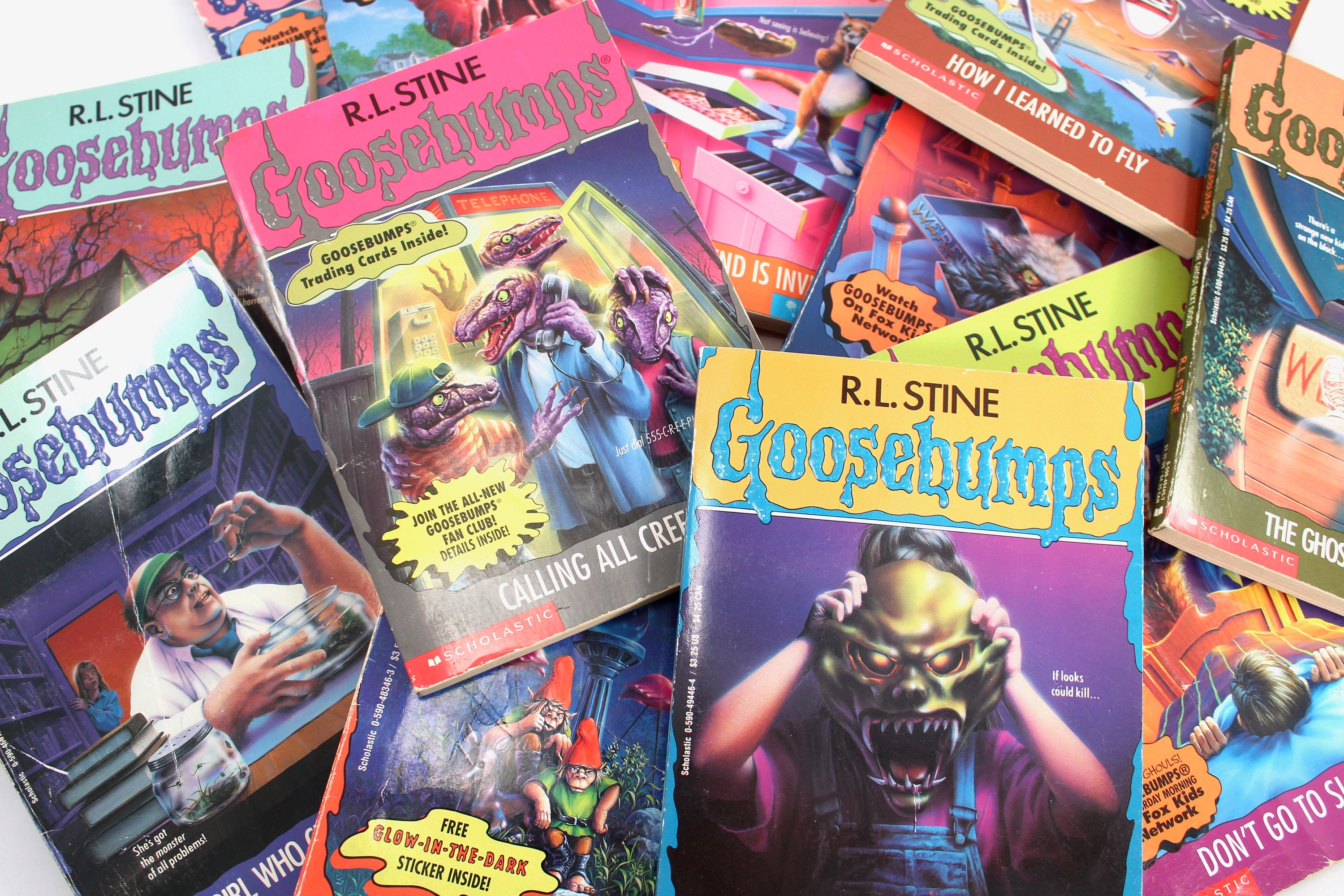 Your Choice Vintage 90s Goosebumps Books By R L Stine Etsy