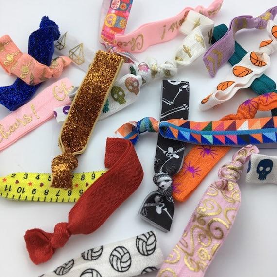 Hair Tie Grab Bag Hair Tie Bracelets Elastic Hair Ties Hair  07c0dd97ad0