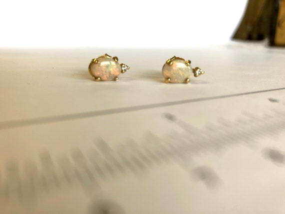 opal gemstones for your ears
