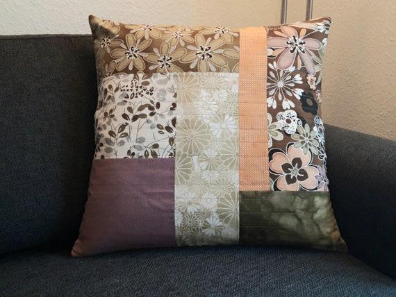 Decorative Pillow Handmade Pillows Patchwork Pillow Pillows Etsy