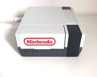 3D Printed NES Nintendo Raspberry Pi 2/3B+ retropie case with fan and heatsink options