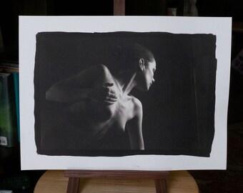 Nude Platinum/Palladium Print: Viktory No. 42041 12x8