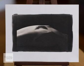 Nude Palladium Print: Queen Jane No. 2053