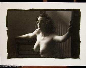 Nude Palladium Print: Em. No. 3393 8x12