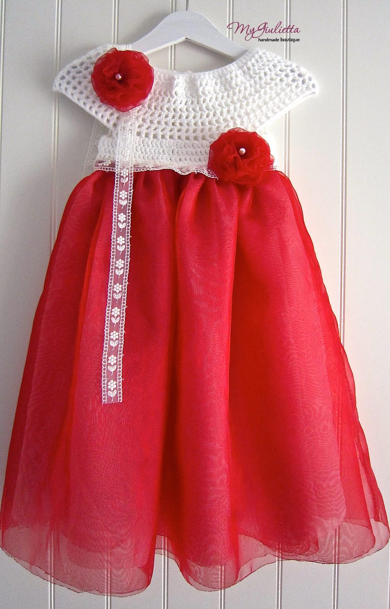 0ab43b34350ce Robe rouge robe de baptême de bébé bébé Occasion spéciale