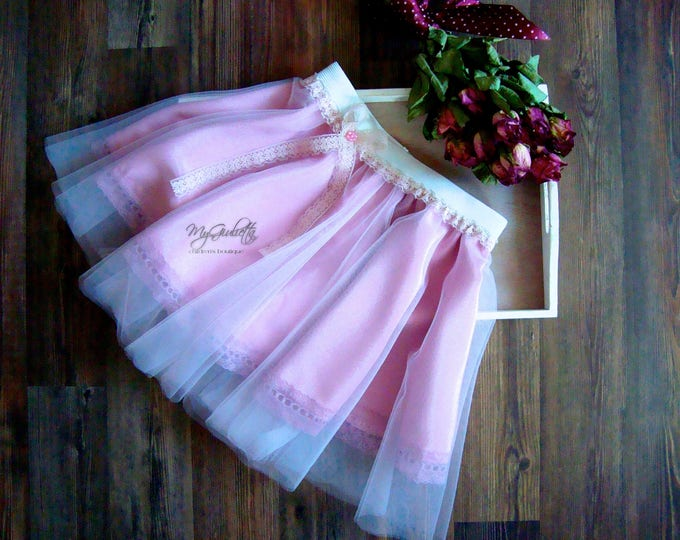 Soft Tulle Tutu, 2 Layers Skirt, Tea Length Tutu, Woman Tutu, Baby Tutu, Girls Tutu, Skirt Petticoat, Custom Tutu Skirt, Birthday Tutu Gift