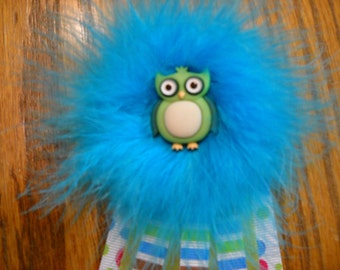 Owl Baby Shower or Birthday Corsage