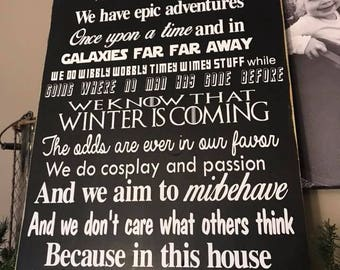 Family Rules We Do Geek