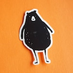 Chubby Bear Sticker