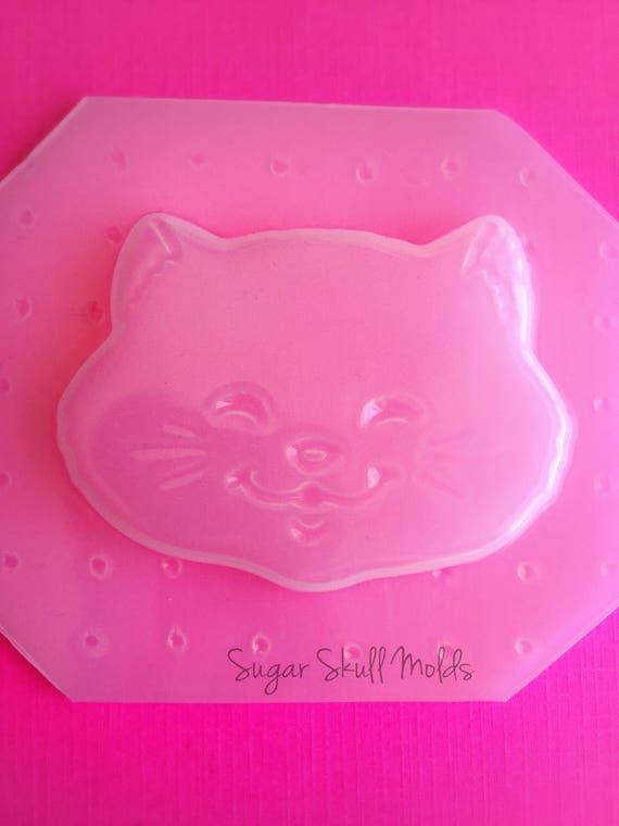 RESIN Kitty Flexible Plastic MOLD