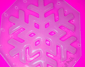 Snowflake Style 4 Flexible Plastic Mold For Resin Crafts Jewelry Decoden