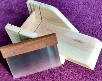 Wood Soap Cutting Box and Cutter