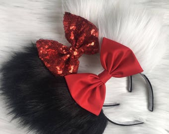 Cruella DeVille Disney Ears