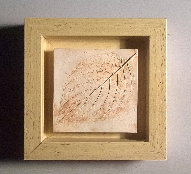 Cornus Blatt. Einzigartige Pflanze Eindruck in Gips in Tulpe   Etsy