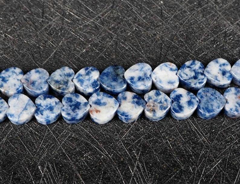 "10mm Natural Sodalite Stone Round Shape DIY Gemstone Loose Beads Strand 15/"""