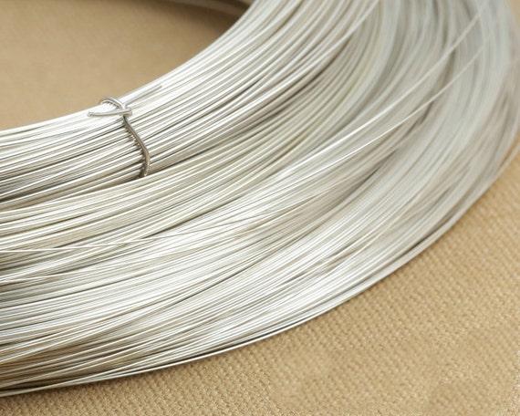 Sterling Silber Draht DIY 925 Silber Draht 08 mm Silber Draht | Etsy