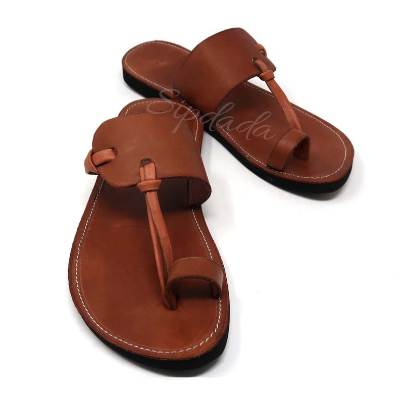 b32794cba7a2 Mens leather sandals Soft leather sandals handmade leather