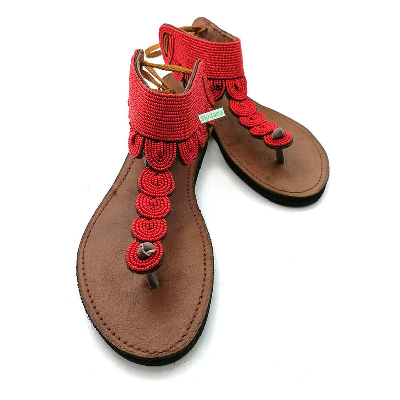 65cd0ba78fae4 Kamisi sandals leather sandals masai sandals maasai
