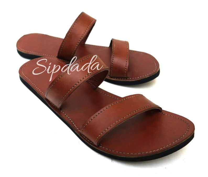 92dc47a5fc122 Mens Slides, Leather sandals, Handmade sandals, Greek sandals, African  sandals, Maasai sandals